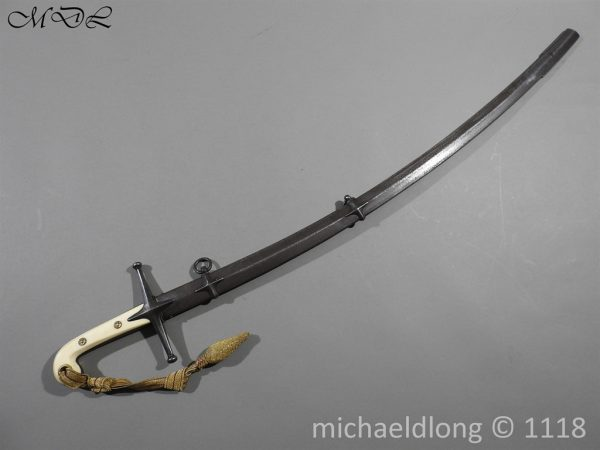 P58493 600x450 British Cavalry Hussars Officer's Mameluke Sabre
