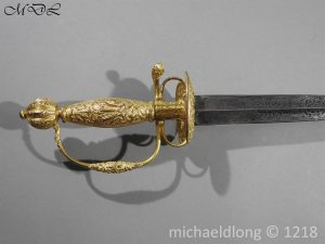P58776 300x225 French Gilt 18th Century Small Sword
