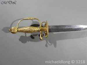 P58781 300x225 French Gilt 18th Century Small Sword