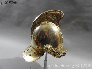 P58891 300x225 British Victorian Merryweather Fire Helmet