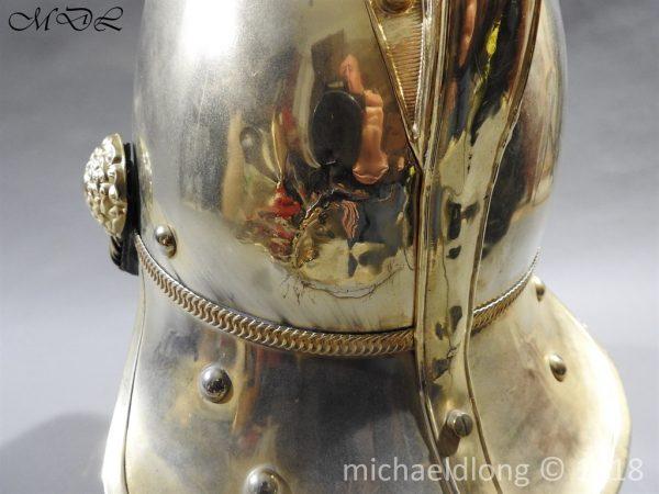P58895 600x450 British Victorian Merryweather Fire Helmet