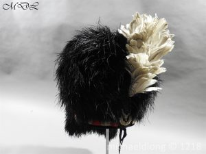 P59338 300x225 Seaforth Highlanders Feather Bonnet