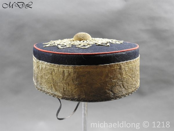 P59361 600x450 Glasgow Yeomanry Officer's Pill Box Cap
