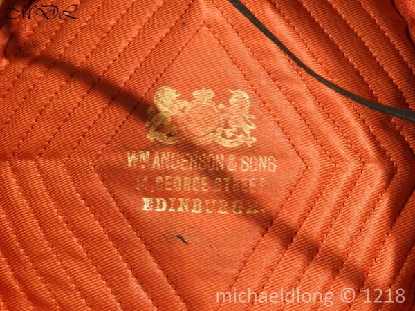 P59381 600x450 Scottish Militia Artillery Officer's Pill Box Cap