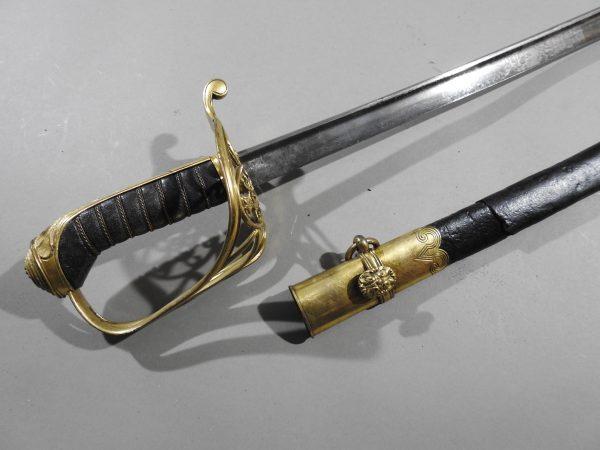 DSCN2236 600x450 British Infantry Officer's Sword 1822 Pattern