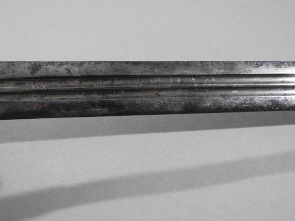 DSCN2453 600x450 Scottish Basket Hilted Broad Sword ANDRIA FARARA c 1760
