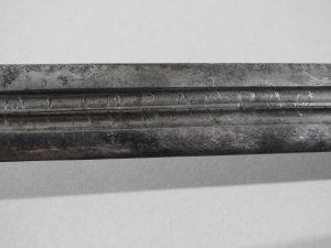 DSCN2454 300x225 Scottish Basket Hilted Broad Sword ANDRIA FARARA c 1760
