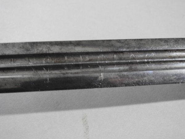 DSCN2462 600x450 Scottish Basket Hilted Broad Sword ANDRIA FARARA c 1760