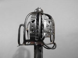 DSCN2464 300x225 Scottish Basket Hilted Broad Sword ANDRIA FARARA c 1760