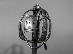 DSCN2465 300x225 Scottish Basket Hilted Broad Sword ANDRIA FARARA c 1760