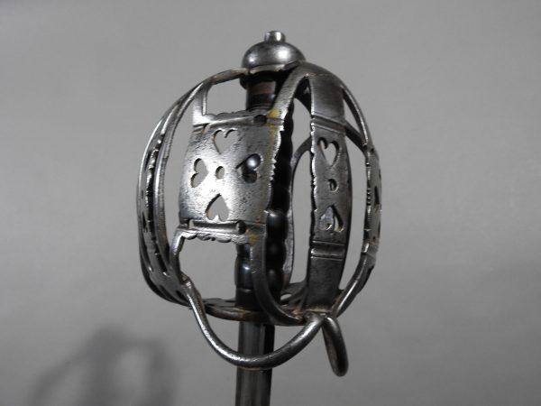 DSCN2465 600x450 Scottish Basket Hilted Broad Sword ANDRIA FARARA c 1760