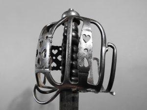 DSCN2467 300x225 Scottish Basket Hilted Broad Sword ANDRIA FARARA c 1760