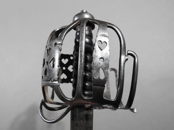 DSCN2467 600x450 Scottish Basket Hilted Broad Sword ANDRIA FARARA c 1760