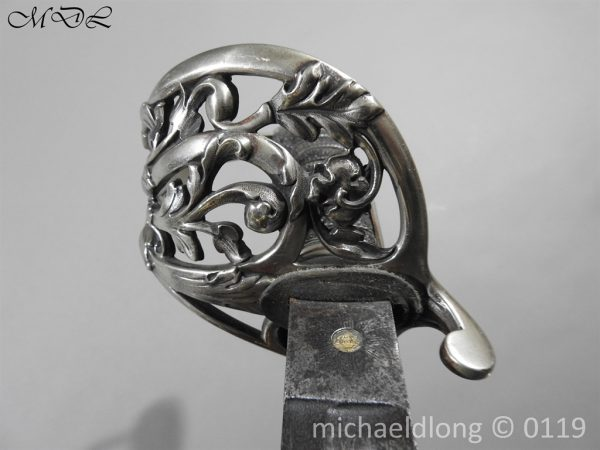 P59829 600x450 Scottish Silver Hilted Presentation Sword