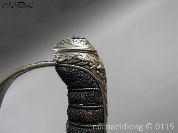 P59837 600x450 Scottish Silver Hilted Presentation Sword