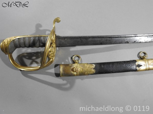 P59963 600x450 William IV British 1822 Infantry Officer`s Sword
