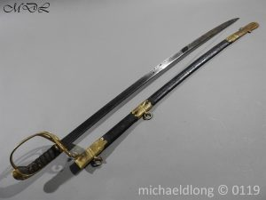 P59966 300x225 William IV British 1822 Infantry Officer`s Sword