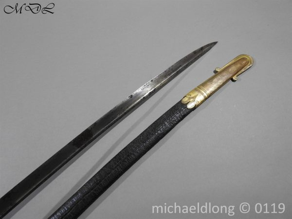 P59969 600x450 William IV British 1822 Infantry Officer`s Sword