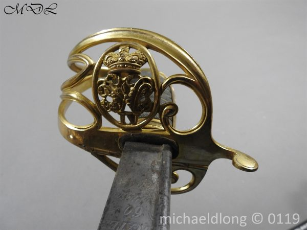 P59981 600x450 William IV British 1822 Infantry Officer`s Sword