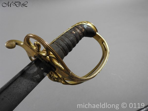 P59983 600x450 William IV British 1822 Infantry Officer`s Sword