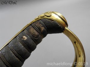 P59984 300x225 William IV British 1822 Infantry Officer`s Sword