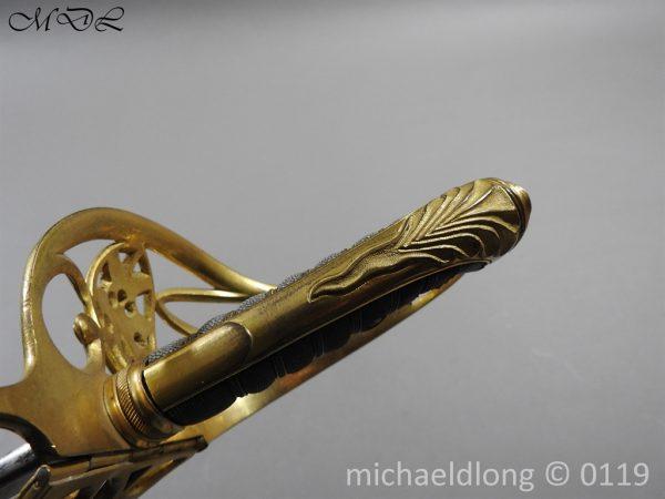 P59986 600x450 William IV British 1822 Infantry Officer`s Sword