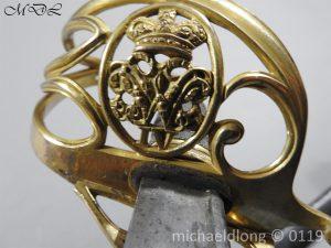 P59987 300x225 William IV British 1822 Infantry Officer`s Sword