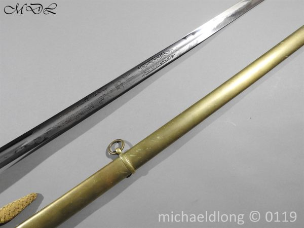 P59992 600x450 Victorian 1845 Infantry Officer's Sword