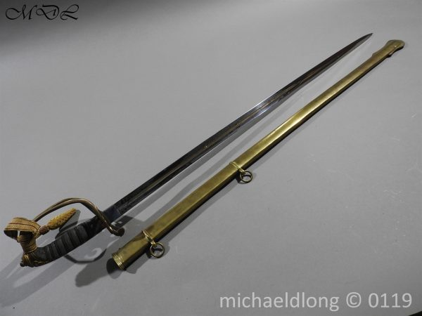 P59994 600x450 Victorian 1845 Infantry Officer's Sword