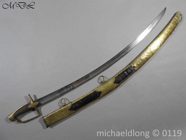 P60061 600x450 French Napoleonic War Period Hussar Cavalry Sword
