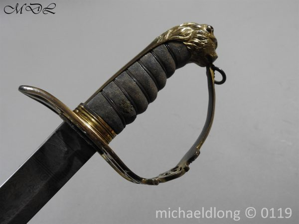 P60121 600x450 Grenadier Guards 1803 Officers Sword