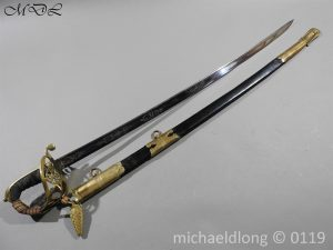 P60126 300x225 British 1822 Blue and Gilt Officer's Sword