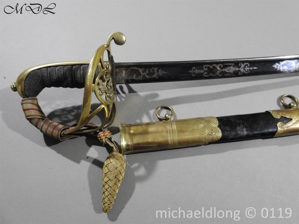 P60127 600x450 British 1822 Blue and Gilt Officer's Sword