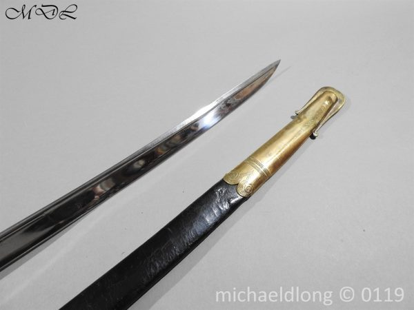 P60129 600x450 British 1822 Blue and Gilt Officer's Sword