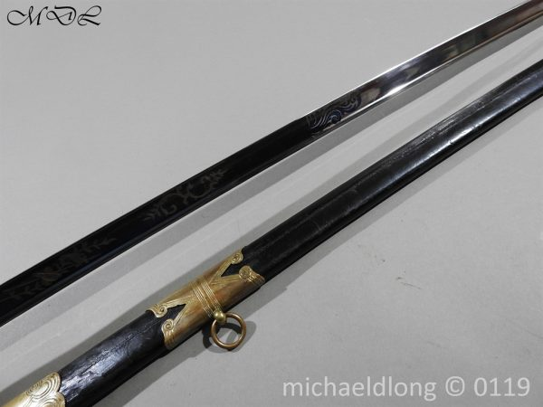P60132 600x450 British 1822 Blue and Gilt Officer's Sword