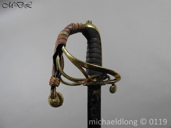 P60151 600x450 British 1822 Blue and Gilt Officer's Sword