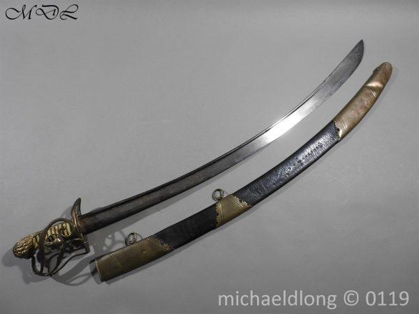 P60375 600x450 Grenadier Officer's Georgian Sword