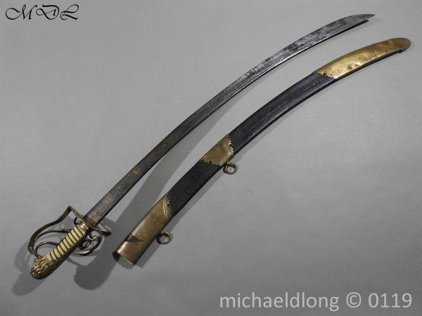 P60381 600x450 Grenadier Officer's Georgian Sword