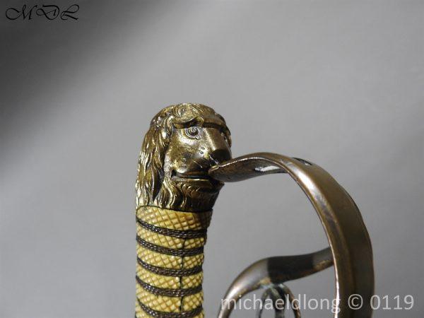 P60399 600x450 Grenadier Officer's Georgian Sword