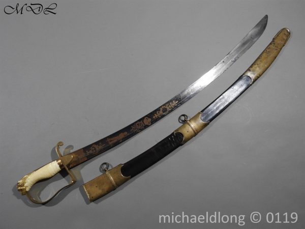 P60419 600x450 English Infantry Officer's Sword
