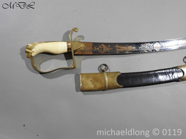 P60420 600x450 English Infantry Officer's Sword