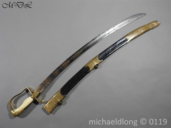 P60423 600x450 English Infantry Officer's Sword