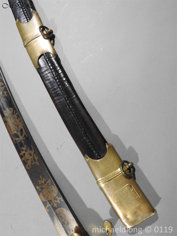 P60427 English Infantry Officer's Sword