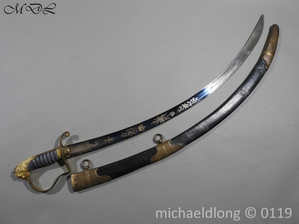 P60449 600x450 1796 English Light Cavalry Officer's Sword