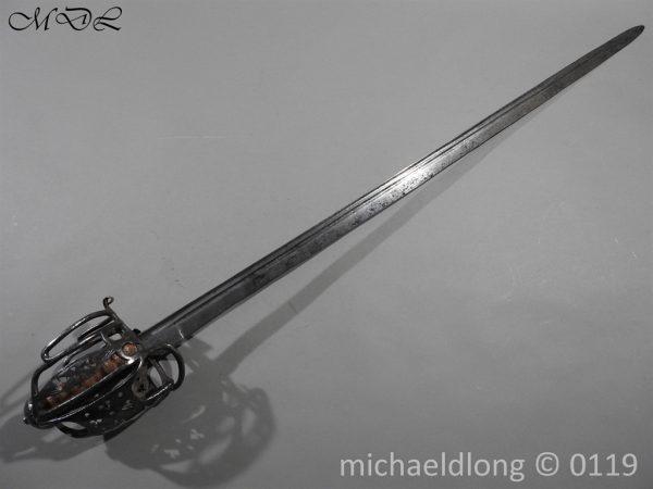 P60658 600x450 Scottish Basket Hilted Sword ANDRIA FARARA c 1720