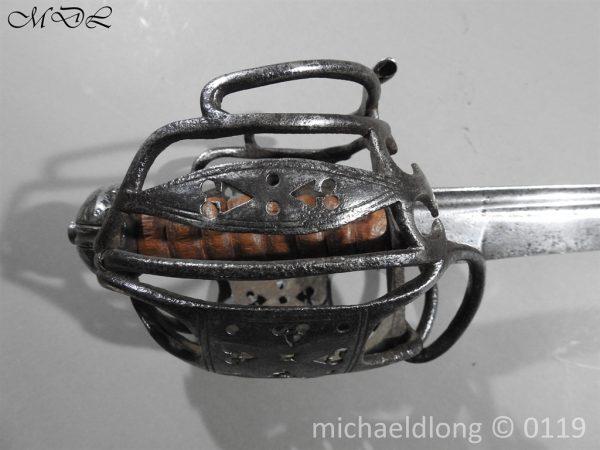 P60662 600x450 Scottish Basket Hilted Sword ANDRIA FARARA c 1720