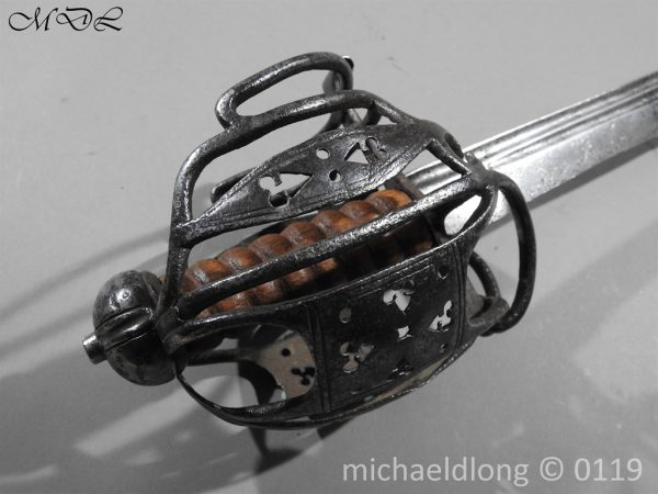 P60669 600x450 Scottish Basket Hilted Sword ANDRIA FARARA c 1720
