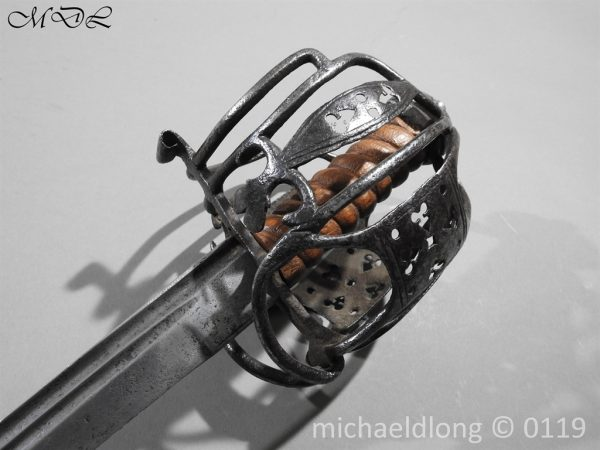 P60671 600x450 Scottish Basket Hilted Sword ANDRIA FARARA c 1720
