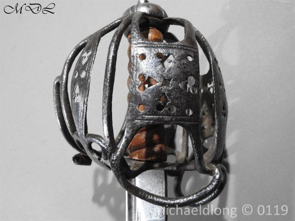 P60673 600x450 Scottish Basket Hilted Sword ANDRIA FARARA c 1720