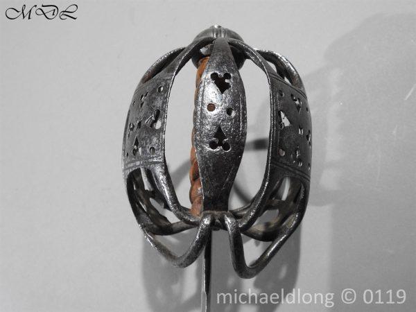 P60674 600x450 Scottish Basket Hilted Sword ANDRIA FARARA c 1720